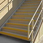 kaymaz zemin kaplama merdiven inis cıkısları