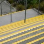 kaymaz epoksi merdiven inisleri
